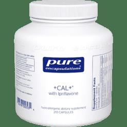 Pure Encapsulations CAL ® with Ipriflavone 210 vegcaps CAL63
