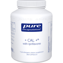 Pure Encapsulations CAL ® with Ipriflavone 350 vegcaps CAL62