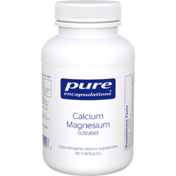 Pure Encapsulations Cal Mag citrate 80mg 90 vcaps CAL72