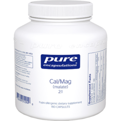 Pure Encapsulations Cal Mag malate 21 180 vcaps CMM1
