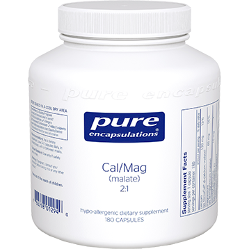 Pure Encapsulations Cal Mag malate 21 180 vcaps CMM1