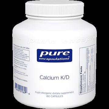 Pure Encapsulations Calcium K D 180 caps P15699