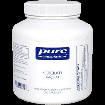 Pure Encapsulations Calcium MCHA 180 vcaps CA137