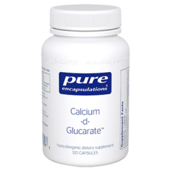 Pure Encapsulations Calcium d Glucarate 500 mg 120 vcaps CAL53