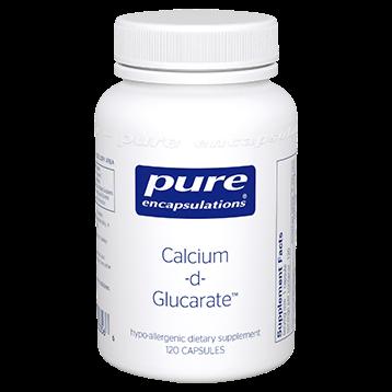 Pure Encapsulations Calcium d Glucarate 500 mg 120 vcaps CAL53
