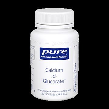Pure Encapsulations Calcium d Glucarate 500 mg 60 vcaps CAL52