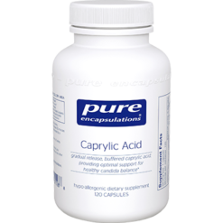 Pure Encapsulations Caprylic Acid 120 vcaps CAP1