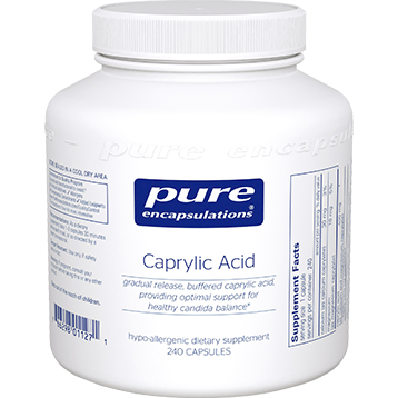 Pure Encapsulations Caprylic Acid 240 vcaps CAP2