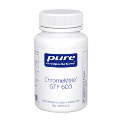 Pure Encapsulations ChromeMate GTF 600 180 vcaps CHR28