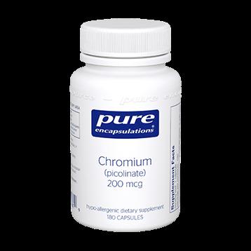 Pure Encapsulations Chromium picolinate 200 mcg 180 vcaps CHR23