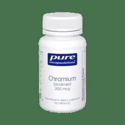 Pure Encapsulations Chromium picolinate 200 mcg 60 vcaps CHR24