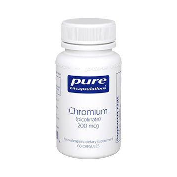 Pure Encapsulations Chromium picolinate 200 mcg 60 vcaps CHR24