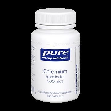 Pure Encapsulations Chromium picolinate 500 mcg 180 vcaps CHR21