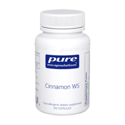 Pure Encapsulations Cinnamon WS 120 vcaps CIN25