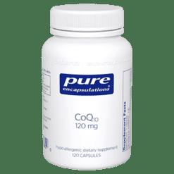 Pure Encapsulations CoQ10 120 mg 120 vegcaps COQ65