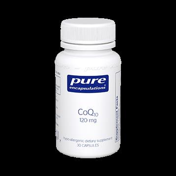 Pure Encapsulations CoQ10 120 mg 30 vegcaps COQ63