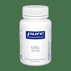 Pure Encapsulations CoQ10 120 mg 60 vegcaps COQ64