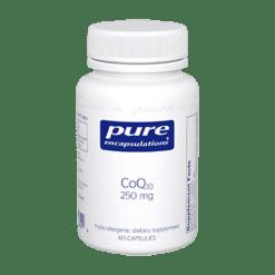 Pure Encapsulations CoQ10 250 mg 60 vegcaps COQ67