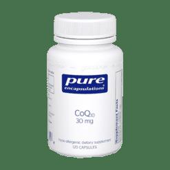 Pure Encapsulations CoQ10 30 mg 120 vegcaps COQ57
