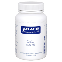 Pure Encapsulations CoQ10 500 mg 60 vegcaps COQ69