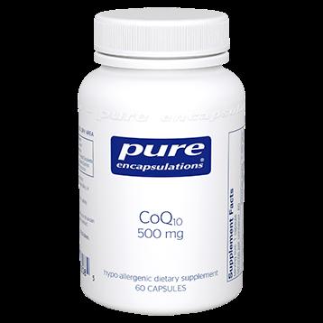 Pure Encapsulations CoQ10 500 mg 60 vegcaps COQ69