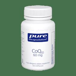 Pure Encapsulations CoQ10 60 mg 120 vegcaps COQ61