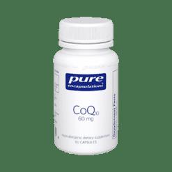 Pure Encapsulations CoQ10 60 mg 60 vegcaps COQ60