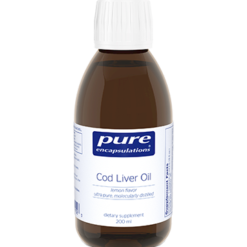 Pure Encapsulations Cod Liver Oil Lemon Flavor 200 ml CLO2