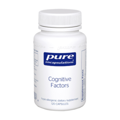 Pure Encapsulations Cognitive Factors 120 vegcaps COGN5