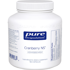 Pure Encapsulations Cranberry NS 500 mg 180 vcaps CRA13