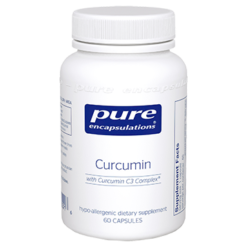 Pure Encapsulations Curcumin 250 mg 60 vegcaps CURC4