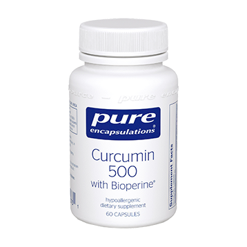 Pure Encapsulations Curcumin 500 with Bioperine® 60 vcaps CUB56