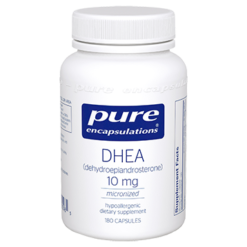 Pure Encapsulations DHEA micronized 10 mg 180 vcaps DHE25