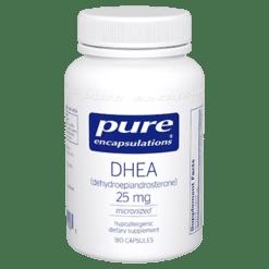 Pure Encapsulations DHEA micronized 25 mg 180 vcaps DHE27