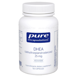 Pure Encapsulations DHEA micronized 25 mg 60 vcaps DHE26