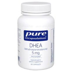 Pure Encapsulations DHEA micronized 5 mg 60 vcaps DHE32