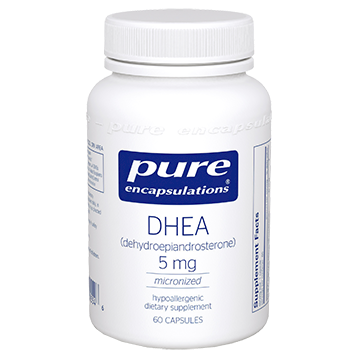 Pure Encapsulations DHEA micronized 5 mg 60 vcaps DHE32