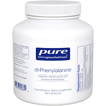 Pure Encapsulations DL Phenylalanine 500 mg 180 vcaps PHEN7