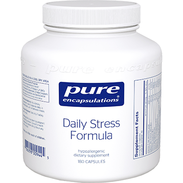 Pure Encapsulations Daily Stress Formula 180 caps DAI28