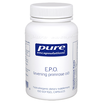 Pure Encapsulations E.P.O. evening primrose oil 100 gels EPO1