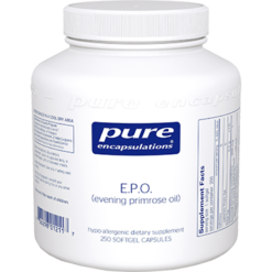 Pure Encapsulations E.P.O. evening primrose oil 250 gels EPO2