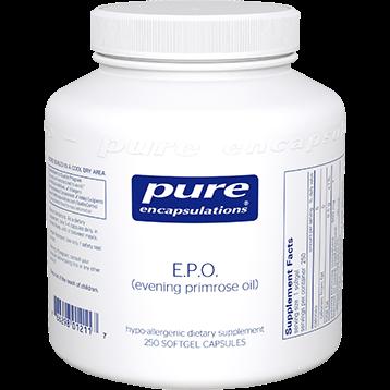 Pure Encapsulations E.P.O. evening primrose oil 250 gels EPO2