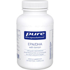 Pure Encapsulations EPA DHA with lemon 120 gels EPA21
