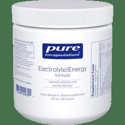 Pure Encapsulations Electrolyte Energy Formula 340 gms ELE18