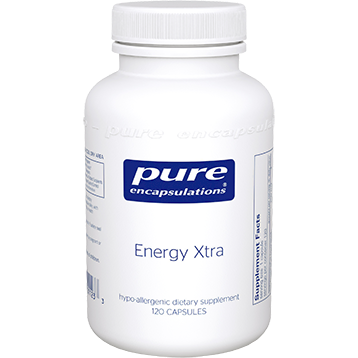 Pure Encapsulations Energy Xtra 120 vcaps EX1