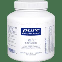 Pure Encapsulations Ester C amp Flavonoids 180 vcaps EST17