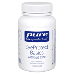 Pure Encapsulations EyeProtect Basics without zinc 60 caps P15255