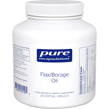 Pure Encapsulations Flax Borage Oil 250 gels FLA23