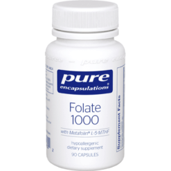 Pure Encapsulations Folate 1000 90 caps PFOL19