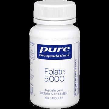 Pure Encapsulations Folate 5000 60 caps P08108